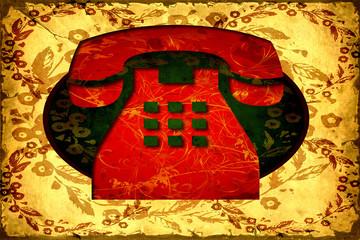 Retroplakat - Telefon