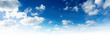 Leinwandbild Motiv peace blue sky