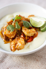 Chorizo Lime Shrimp