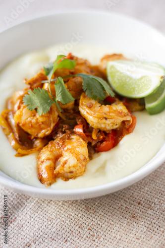 Chorizo Lime Shrimp