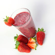 Strawberry and Blackberry Fruit Smoothie