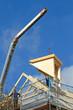 Montage einer Dachgaube