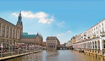 Hamburg, Jungfernstieg