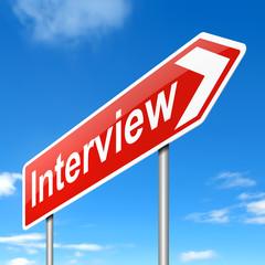 Interview concept.