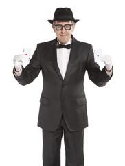 Magician show card