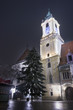 Town Hall at Night, Bratislava, Slovakia
