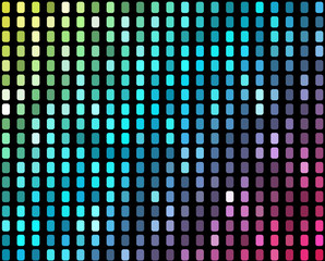 Abstract mosaic neon background_2