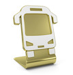 """Bus"" Golden Icon"