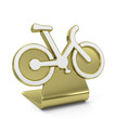 """Bike"" Golden Icon"