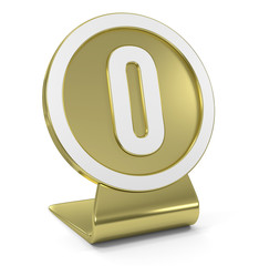 """Zero"" Golden Icon"