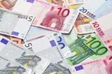 Fototapeta Finanse - Tło - Pieniądze / Banknoty / Karta Kredytowa
