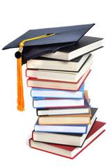 Books Grad Cap