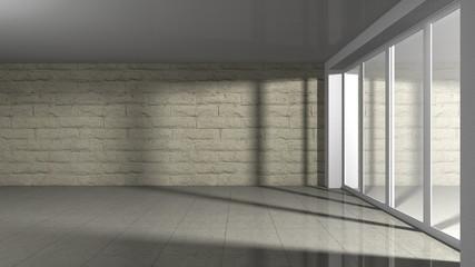 room interior - Naturstein Mauer