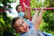 Leinwanddruck Bild - Kinder aktiv