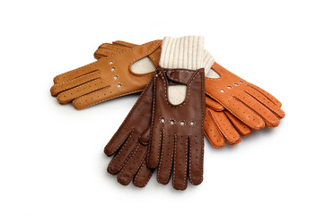 race leather gloves