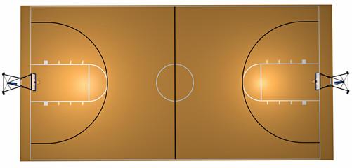 Campo basket sport
