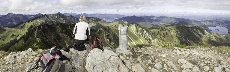 wawandern in den miesbacher bergen am brecherspitz
