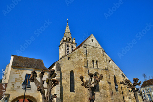 France, the church Saint Christophe of Cergy