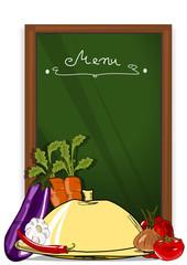 Menü, Tafel und Gemüse