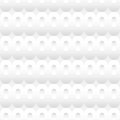 Shades of White Ovals Seamless Background Tile
