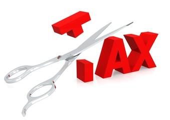 Scissor and tax