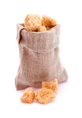 Small bag with brown sugar