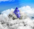 Pyramide Solar wolken