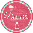 Dessert label