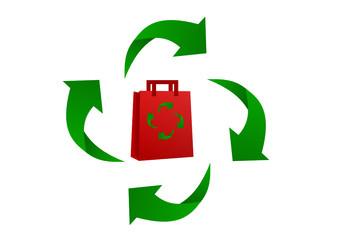 busta riciclabile