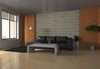 modern living room - interior