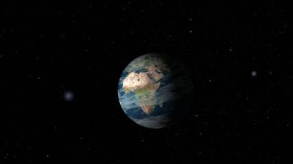 Acercamiento a la Tierra