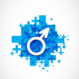 positive male gender symbol