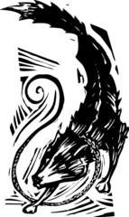 Mythological Fenris Wolf 2