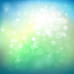 Abstract defocused lights background