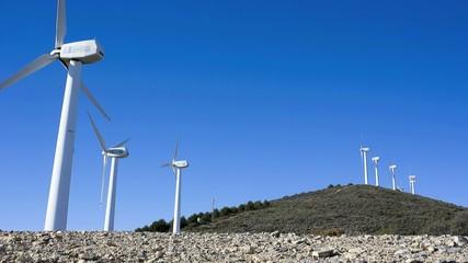 Time lapse molinos de viento