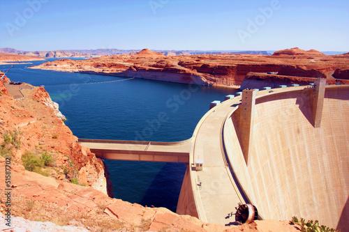 The Glen Dam in Lake Powell,Utah - 51587702