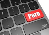 Porn with black keyboard poster