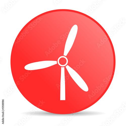 互联网力量商业图标循环技术按钮清洁的环境生态学登录空气网页红色