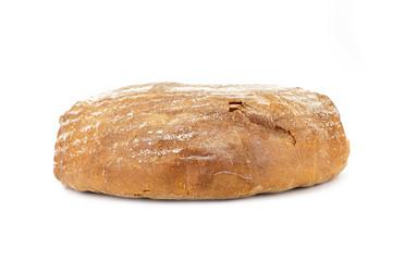 Halved rye bread