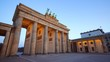Brandenburger Tor (Brandenburg Gate), famous landmark in Berlin