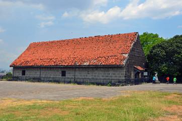 Baluarte De Santa Barbara at Fort Santiago in Manila,Philippines