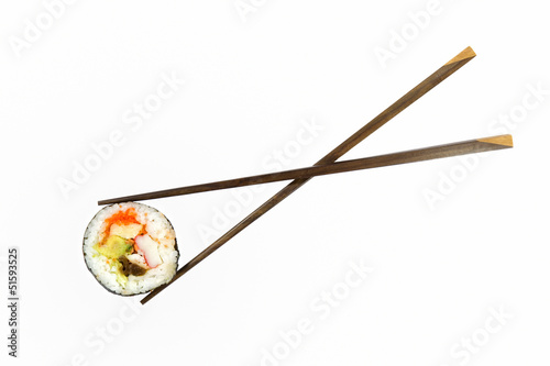 Isolated sushi