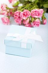 Blue giftbox
