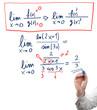 Solving limit equation.