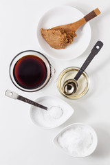 和食の基本調味料さしすせそ&料理酒