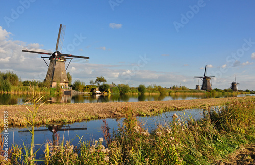 Windmill park Kinderdijk,Holland