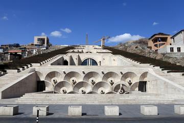 View of Cascade in Yerevan