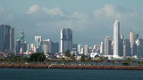Panama City - Landscape view from the sea - Video High Definitio