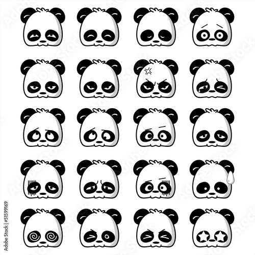 Emoticon Panda