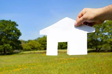 concetto di compravendita case